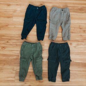 Lot of boys cargo pants